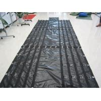 Wholesale Side Curtains PVC Coated Tarpaulin Abrasion Resistant Customizable Size from china suppliers