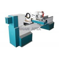 Wholesale Horizontal Spindles CNC Wood Turning Lathe Machine DSP Control System For Wood Carving from china suppliers