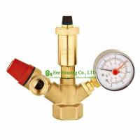 Wholesale Brass Safety Valve,Safety Group Set,Air Vent Valve,Boiler Valve,1.5 Bar, 3 Bar Safety Valve,Use For Boiler from china suppliers