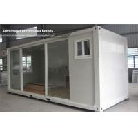 Wholesale Prefabricated flat pack container house , commercial portable house with glass door from china suppliers