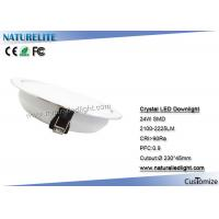Wholesale Crystal 24W LED Downlight LED Down Lights For Living  /  Bed Room from china suppliers