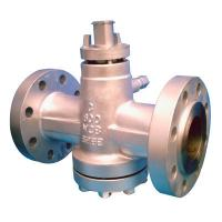 Wholesale 4 Inch API 6D Plug Valve , Class 600 Gear Operated Valves PN100 Butt Welded from china suppliers