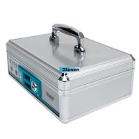 Lockable Security Portable Cash Box With Customized Logo OEM / ODM Manufactures