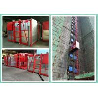 Wholesale Passenger Material Hoist Builders Lift , Rack And Pinion Construction Hoist Elevator from china suppliers