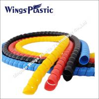 Wholesale Hose Spiral Protective Wraps Making Machine / PE PP Hose Protector Extrusion Line from china suppliers