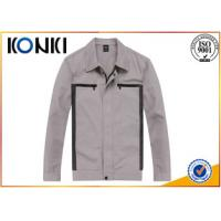 Wholesale Durable Material Custom Work Jackets Embroidered For Autumn / Winter from china suppliers