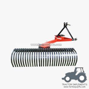 4LR - Farm equipment tractor 3point Mounted Landscape Rake 4Feet