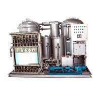 Wholesale 0.25KW Vacuum Marine Oily Water Separator Machine With Plunger Pump from china suppliers