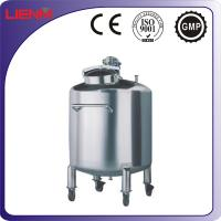 Wholesale SS316, SS304 Storage Tank with Pneumatic Mixing Motor from china suppliers
