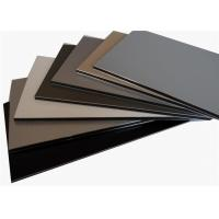 ... Thickness Aluminum Composite Panel Sheet / Cladding For Stores on sale