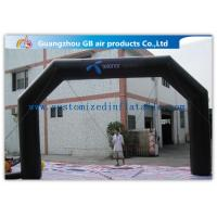 Wholesale Black Custom Inflatable Arch For Advertisement /  PVC Blow Up Arch from china suppliers