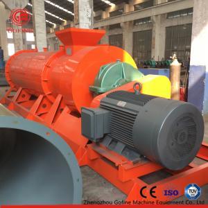 China Cattle Waste Organic Fertilizer Granulator High Speed Good Granulation Effect on sale