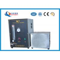Wholesale Micro Controlled Flame Test Equipment 820*820*1500 MM With Observation Window from china suppliers