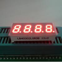 """Wholesale Ultra Red 0.30"""" 7 Segment Led Display 4 Digit For Temperature / Humidity Indicator from china suppliers"""