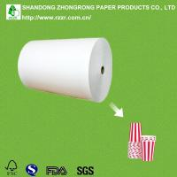 China 100% virgin wood pulp paper cup raw material on sale