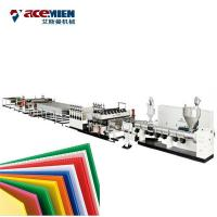 Wholesale PE PP Hollow Sheet Extrusion Line Plastic Hollow Grid Plate PC PE Extrusion Machine from china suppliers