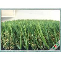 Quality Simulation Indoor Artificial Grass 12200 Dtex Green Color Indoor Fake Grass for sale