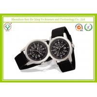 Wholesale Customized Logo Male Wrist Watches Army Light Green Watch Band from china suppliers
