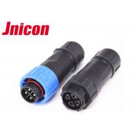Wholesale Eco - Friendly Waterproof Circular Connectors Push Locking IP67 Blue Ring from china suppliers
