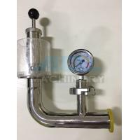 Wholesale Air Pressure Relief Valve with Manometer for Fermentation Tank Pressure Relief Valve from china suppliers