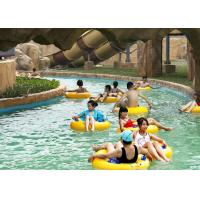 Outdoor Water Park Swimming Pool Lazy River With Wave Making Machine 102008311