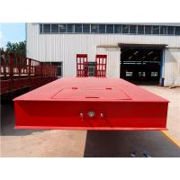4 axles low bed trailer
