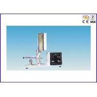 China Foam Plastics Line Vertical Flammability Tester With GB/T 8333 Standards on sale