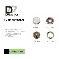 Wholesale 16L Bulk Pearl Prong Snap Button • Decorative Snaps • Pearl Snaps from china suppliers