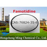Wholesale Pharmaceutical Intermediates Famotidine CAS 76824-35-6 Histamine H2 Receptor Blocker from china suppliers