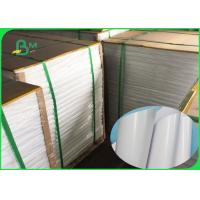 Wholesale Food Grade PE Coated 50GSM Craft Paper White & Brown No Harm To People from china suppliers