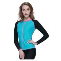 Wholesale Surfing Jacket Neoprene Tops For Women , 3mm Neoprene T Shirt from china suppliers