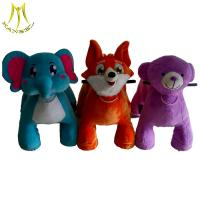 Hansel  low price stock coin operated plush animal toy rides electrical animal toy car factory
