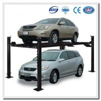 China 4 Post Auto Lift Vertical Storage System on sale
