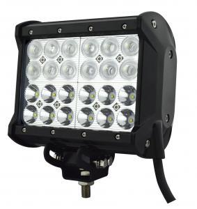 China 72 Watt 7 Inch Quad-Row LED off-Road Light Bar for 4X4 Vehicle on sale