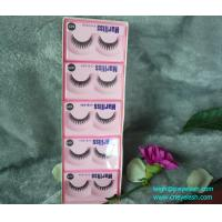 Wholesale 10 pairs black thick long private label false eyelashes/eye lashes/false eyelashes from china suppliers