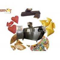 Wholesale PLC Controlled Snack Food Extruder Machine , Puffed Food Extruder Easy To Use from china suppliers