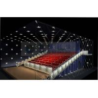 China Popular Theme park 3D cinema system , 4D 5D cinema movie theaters with real leather motion chairs on sale