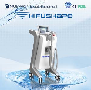 Wholesale 2015 NUBWAY SLIMMING leading technology ultrashape hifu beauty machine / hifu body from china suppliers
