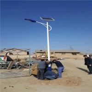 China 40~120W IP65 Solar Powered LED Strip Night Street Light Solar Powered Lights Outdoor on sale