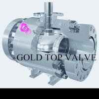 API 6D Split Body Side Entry Ball Valve Trunnion Mounted Double Block and Bleed