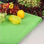 Wholesale Workshop Floor / Supermarket PVC Fruit Mat Black Vegetable Mat Width 164CM from china suppliers