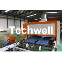 Wholesale 0.4mm Al-Zn Plating Panel Steel Stone Coated Roof Tile Machine from china suppliers
