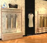 Retail clothes display cabinet metal display rack display rack store