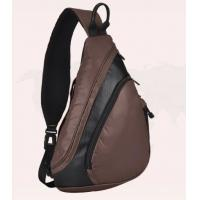 Wholesale Single shoulder bag, 600D polyester fabric face with PU coating and PU fabric, from china suppliers