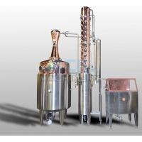 Wholesale 600L Moonshine/Whiskey/Vodka Copper Distiller Spirit Distiller from china suppliers