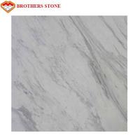 Wholesale Volakas White Marble Stone Big Slab 18mm Thickness , Free Sample from china suppliers