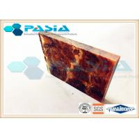 Shipbuilding Industry Honeycomb Backed Stone Marble Composite Panels Waterproof