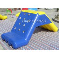 Wholesale Custom Stable Inflatable Water Toys PVC Floating Slide For Water Park With Air Pump from china suppliers