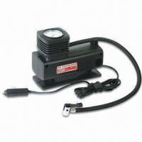 Buy cheap Auto Air Compressor with 250psi Pressure, Cigarette Lighter Plug and 45cm Hose from wholesalers