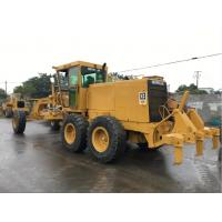 China Second Hand Compact Motor Grader , Caterpillar Road Grader 12G A/C Available on sale